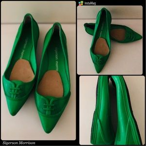NWOT- SIGERSON MORRISON Kelly Rubber Flats Shoes